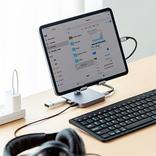 スマホやタブレットをデスクトップ化する『USB Type-C ドッキングステーション』【今日のライフハックツール】
