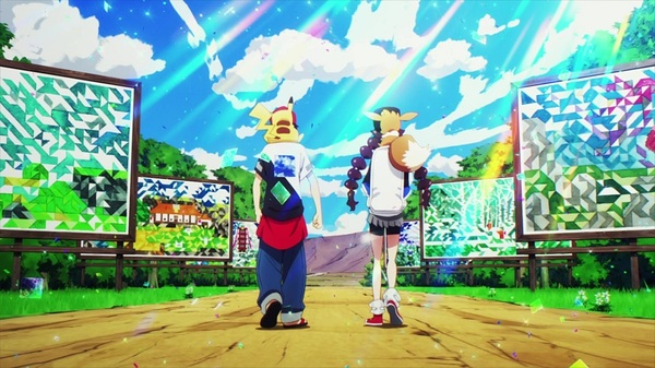 後ろ姿 (C)2020 Pokémon. (C)1995-2020 Nintendo/Creatures Inc. /GAME FREAK inc.