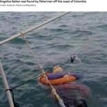 2年前から音信不通の母親、海で漂流しているところを発見される(コロンビア)<動画あり>