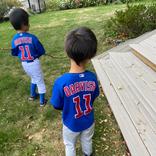 ダルビッシュ有、息子たちと野球楽しむ姿に「素敵」の声