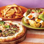 ハロウィンはココスでお持ち帰り! ピザとサラダ、ポテトがセットに