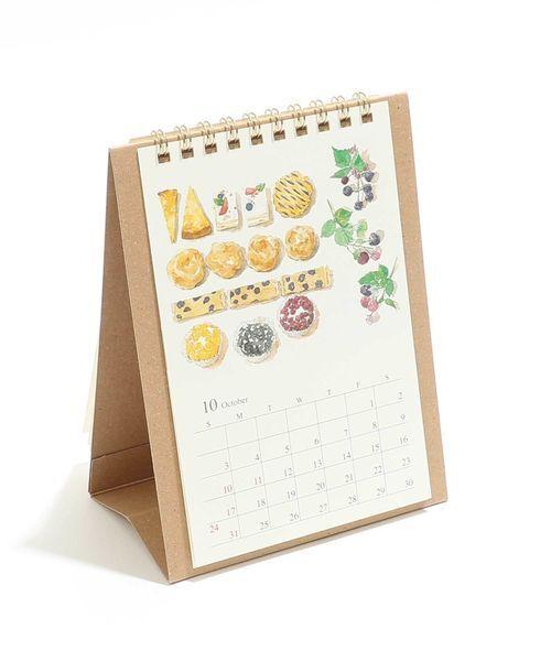 [Afternoon Tea LIVING] 水彩卓上カレンダー
