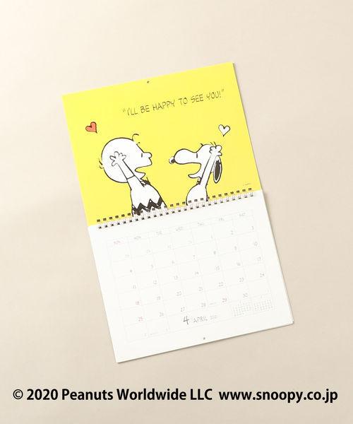 [Afternoon Tea LIVING] PEANUTS/壁掛けカレンダー