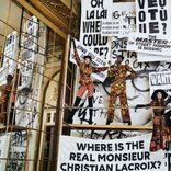 フランスの巨匠ムッシュ・クリスチャン・ラクロワとのコラボレーションカプセル新作秋冬コレクション