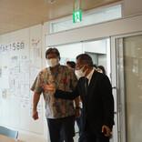 萩生田文部科学大臣がラフピー専門学校視察、堅苦しくない『自然な居場所づくり』に注目