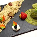 食べる日本庭園!?秋の味覚の和栗×抹茶スイーツを「OMATCHA SALON」で