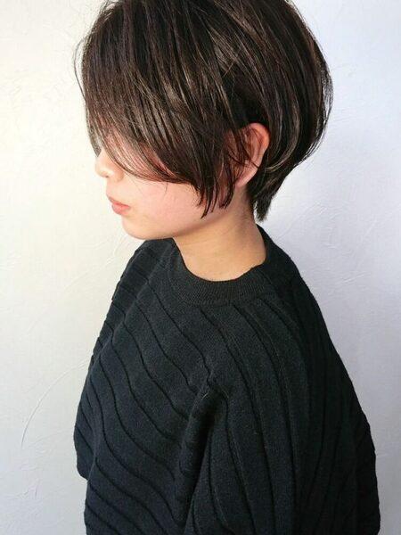 ショートヘア×タンバルモリヘア