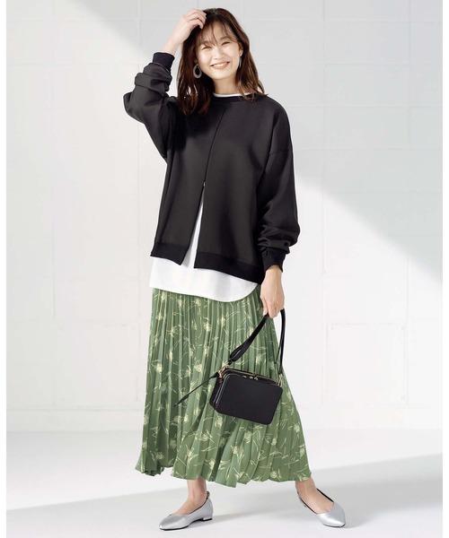 [GeeRA] 【20秋冬新着】アコーディオンプリーツスカート