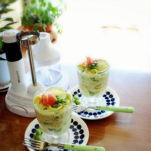 おすすめレシピ!枝豆クリームパスタ