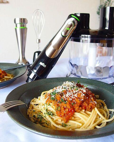 人気レシピ!たっぷり野菜のミートソーススパゲティ