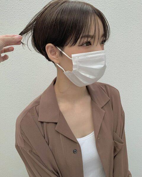 ワイドバング×ショート【ストレート】3