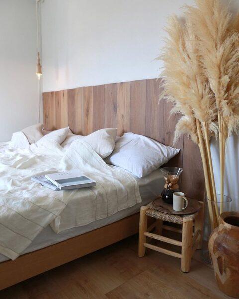ナチュラルでおしゃれな寝室インテリア4