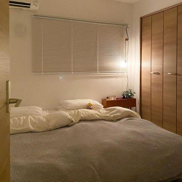 ナチュラルでおしゃれな寝室インテリア5