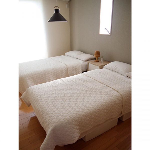 ナチュラルでおしゃれな寝室インテリア6