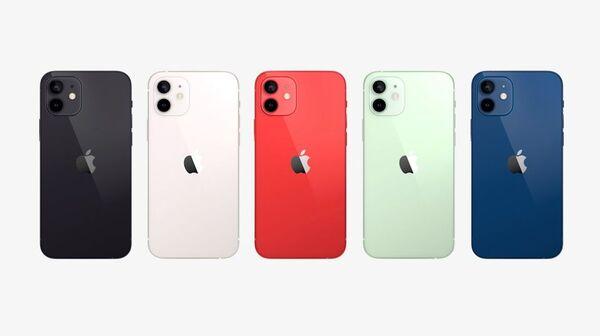 iPhone12の5色のカラーバリエーション