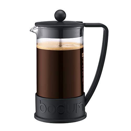 BODUM ボダム BRAZIL ブラジル フレンチプレス コーヒーメーカー 1L ブラック 【正規品】 10938-01J