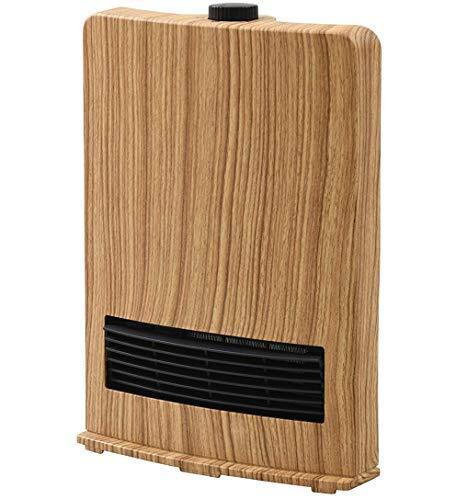 [山善] セラミックファンヒーター (セラミックヒーター) 暖房器具 1200W / 600W 2段階切替 DF-J121(NM) [メーカー保証1年]