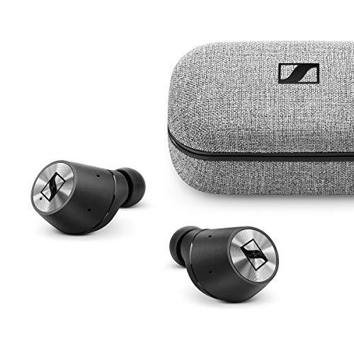 【2019 VGP Award金賞】ゼンハイザー Bluetooth 完全ワイヤレスイヤフォン MOMENTUM True Wireless, ドイツ本社開発7mmドライバー、Bluetooth 5.0 Class 1, 途切れにくい、NFMI、低遅延、aptX-LL, aptX, AAC, 外音取込、通話【国内正規品】