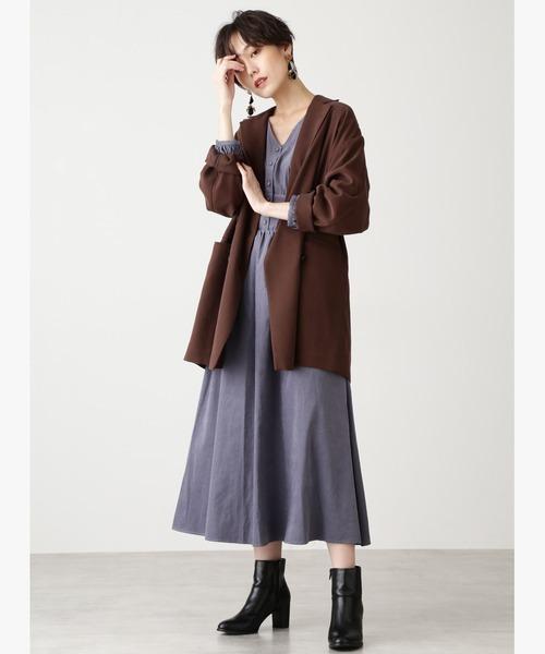 [N.(N. Natural Beauty Basic)] ◆ビックダブルジャケット