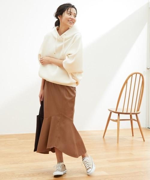 [ViS] 【田中みな実さん着用】エコレザーマーメイドスカート