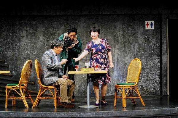 """""""ねずみの三銃士""""第4回企画公演『獣道一直線!!!』 撮影:細野晋司"""