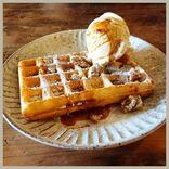 【西新井】ワッフルが人気のカフェ『Cafe Sanctuary(カフェ サンクチュアリ)』って知ってる?かぼちゃプリンも絶品♡