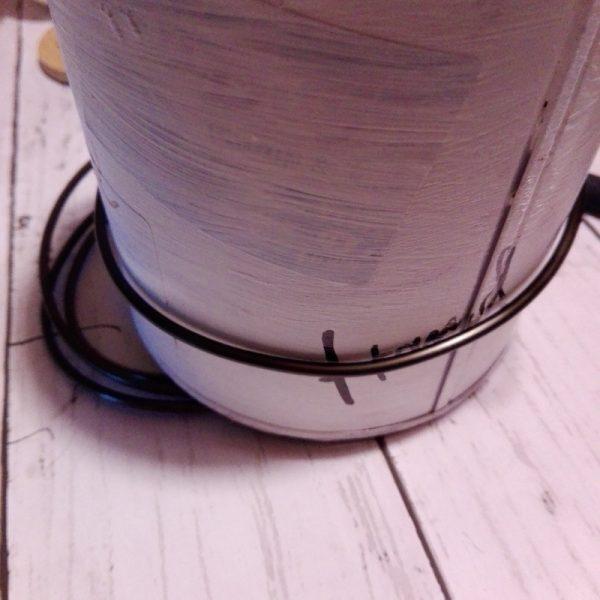 ワイヤーアートの作り方③針金を巻く