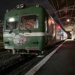 岳南電車、電車の中で一夜を過ごせる「ナイトステイホームin吉原」開催