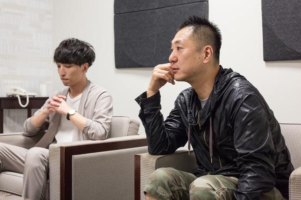 左:三好大貴(劇団Patch)右:木村淳(カンテレ)