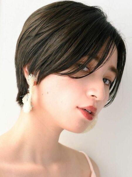 縮毛矯正におすすめの髪型4