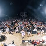 キュウソネコカミと四星球が5年ぶりに大阪城音楽堂で共演、音楽×笑いの無敵のハピネスが詰まった3時間