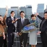 織田裕二、『SUITS/スーツ2』撮了に感謝「皆さんの頑張りのおかげ」 全15話完走