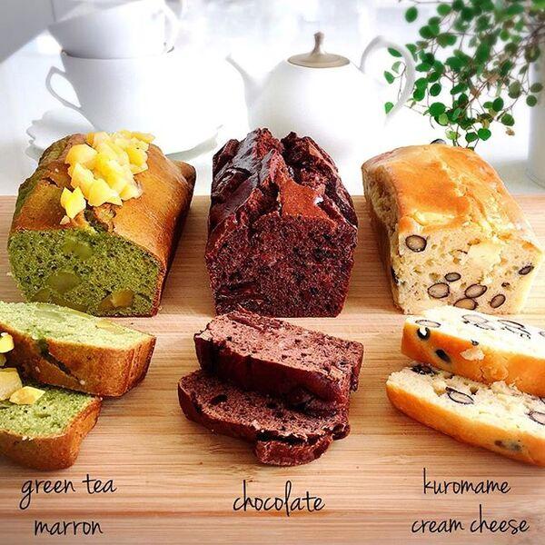 テイスト色々!楽しいパウンドケーキ