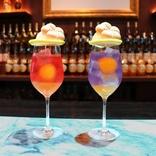 美しすぎる「梅酒カクテル×クリームソーダ」♪ CHOYA人気店で限定販売