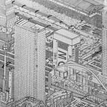 「模写じゃないの!?」 小学生が描いた『空想の街』に絶賛の嵐!