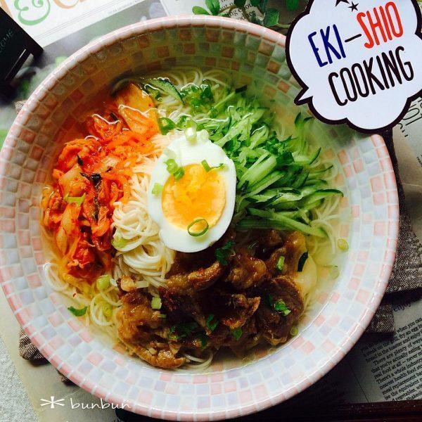 冷麺風スープ
