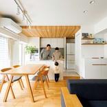 キッチンをオープン型にリノベ。マンションのLDKが光と会話でいっぱいに