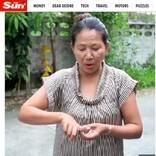 トイレ中の女性、2メートル超のニシキヘビにお尻と指を噛まれる(タイ)