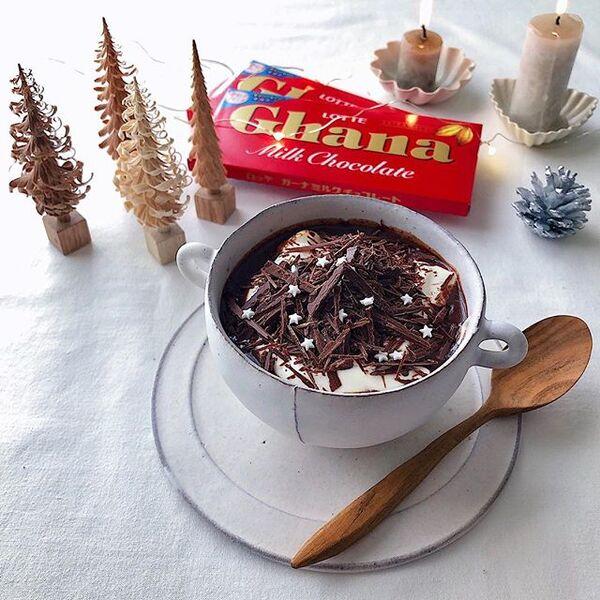 幸せな気分になるホットチョコレート