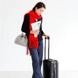 【2021冬】赤マフラーのレディースコーデ!差し色の大人っぽい着こなしって?