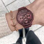 今欲しいのはこんな色!深みある秋色おしゃれな腕時計特集