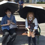 松村北斗&森七菜、感染防止対策徹底で映画撮影…メイキング画像一挙公開