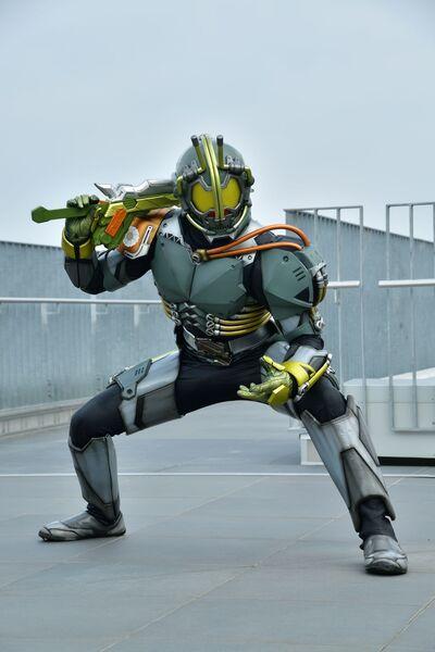 ブガ/アバドン スーパーヒーロープロジェクト(C)石森プロ・テレビ朝日・ADK EM・東映
