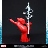 マーベルヒーローの「実物大の手」が発売!後楽園ゆうえんちじゃなくても、ヒーローと握手!!