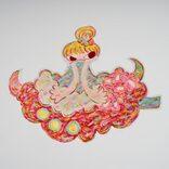 今年度制作の最新作約160点からなる展覧会「魔法の手 ロッカクアヤコ作品展」