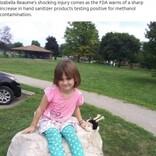 手指消毒剤で遊んでいた6歳女児が顔に火傷 ライターの火が引火「消毒剤はあっという間に燃え広がる」母親が警鐘鳴らす(米)