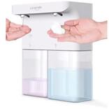 泡と液体のせっけん・洗剤を1台で使い分けできる自動ソープディスペンサー