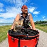 世界を旅する猫ちゃん、インスタフォロワー85万人で本を出版