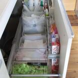 便利!無印のティッシュボックスでゴミ袋や排水口ネット、キッチンペーパーを収納