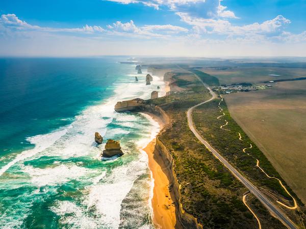 オーストラリア・ニューサウスウェールズ・グレート・オーシャン・ロード